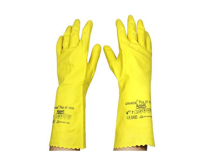 安思尔 天然橡胶手套(87-650#)